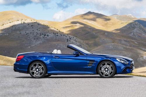 =8. Mercedes-Benz SL (8/10 điểm).