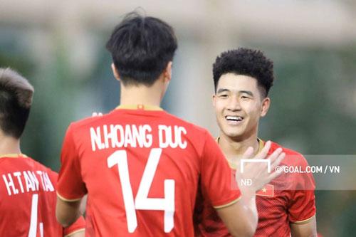 U22 Việt Nam giành chiến thắng với tỉ số 6-0 trước U22 Brunei.