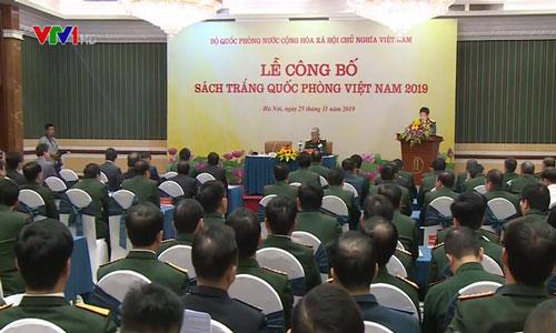 Lễ công bố Sách trắng Quốc phòng Việt Nam.