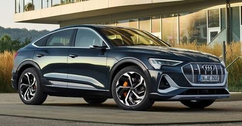 2020 Audi e-tron Sportback có công suất 355 mã lực