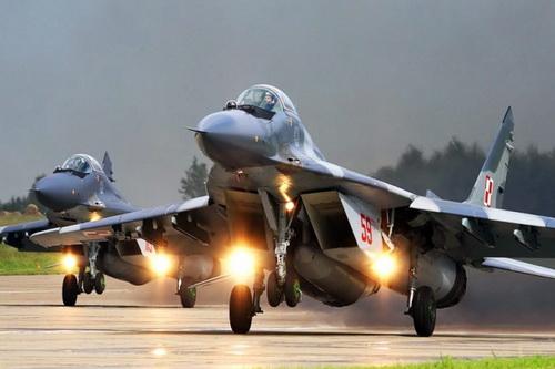 Tiêm kích hạng nhẹ MiG-29 Fulcrum của Không quân Ba Lan. Ảnh: Avia.pro.