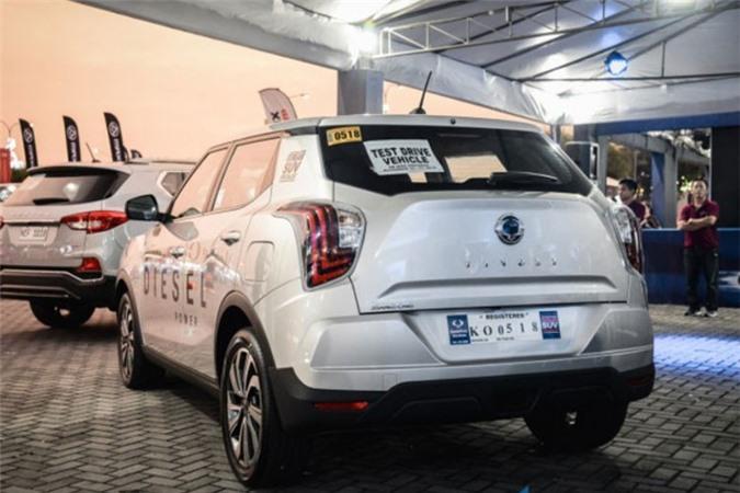 SUV Ssangyong Tivoli 2020 may dau