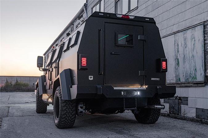 Sieu SUV chong dan - Inkas Sentry Civilian 2020 cho gioi sieu giau-Hinh-7