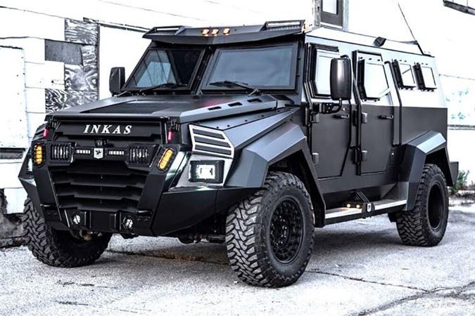 Sieu SUV chong dan - Inkas Sentry Civilian 2020 cho gioi sieu giau-Hinh-8