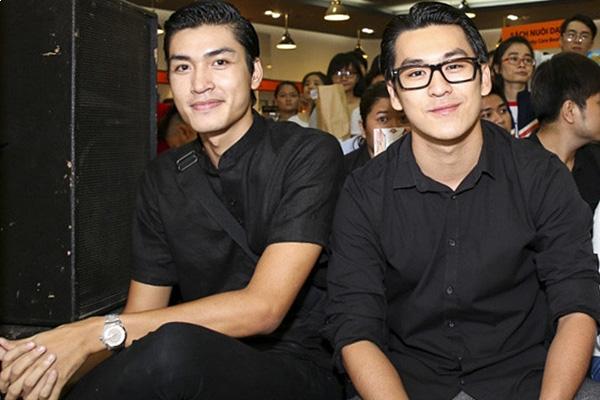 Quang Đại (trái) - Thiên Minh.