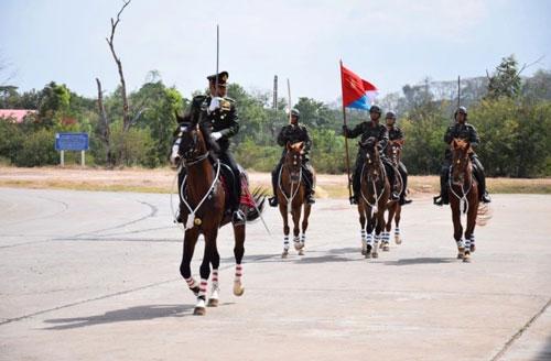 Lực lượng Thiết giáp thuộc Quân đội Thái Lan vừa có màn trình diễn hết sức mãn nhãn với việc