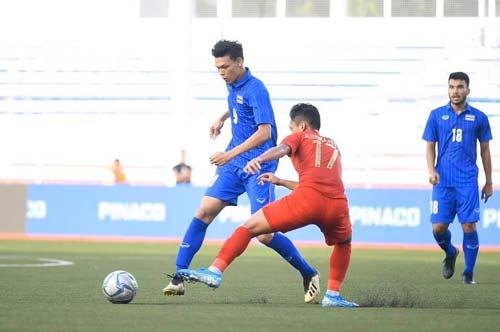 U22 Thái Lan nhận thất bại 0-2 trước U22 Indonesia.