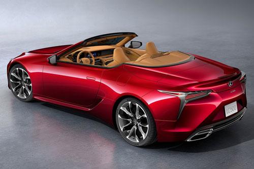 Lexus LC500 Convertible 2021.
