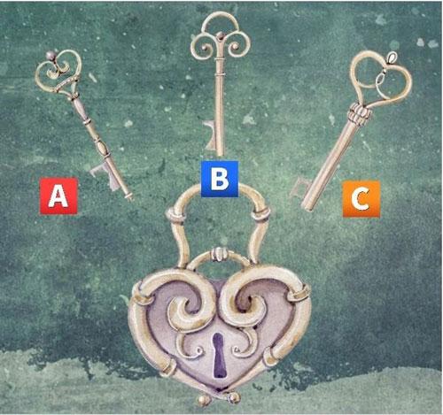 Bạn chọn chiế chìa khóa nào?