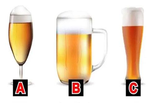 Bạn chọn cốc bia nào?