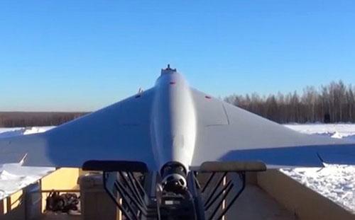 Máy bay không người lái tấn công KUB được Tập đoàn Kalashnikov giới thiệu. (Ảnh: Defense One)