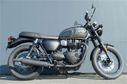 9. Triumph Bonneville T100 Black 2020 (giá: 10.900 euro).