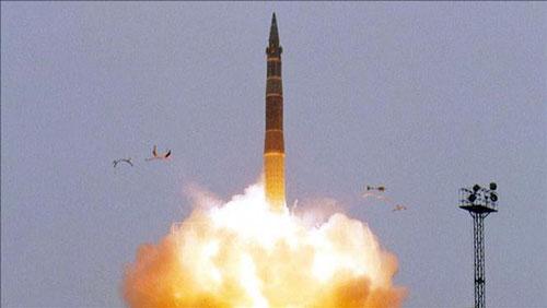 Tên lửa đạn đạo liên lục địa Topol-M của Nga. (Ảnh: Reuters/TTXVN)