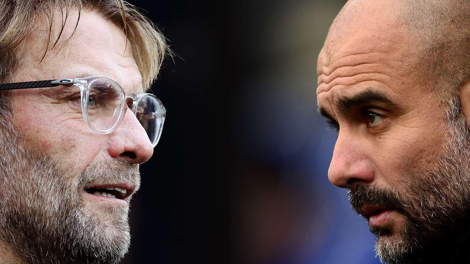 Pep Guardiola và Juergen Klopp là những chiến lược gia thành công nhất Ngoại hạng Anh hiện tại