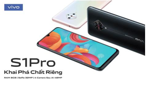 """Vivo S1 Pro công bố chính thức sau thời gian """"nhá hàng"""""""