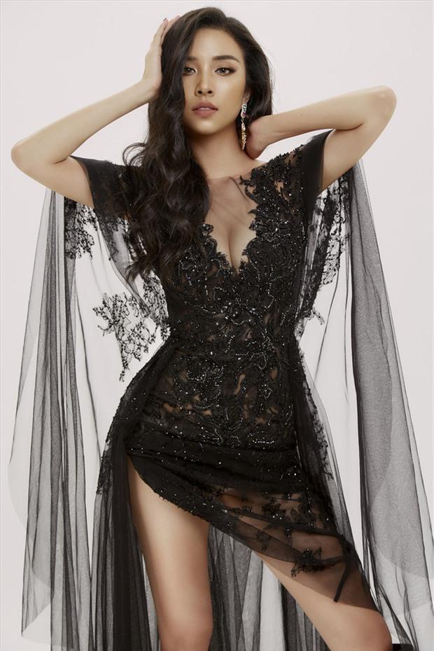 Á hậu Thúy An mang cả đại bàng lớn đang sải cánh vào Quốc phục chinh chiến Miss Intercontinental 2019 - Ảnh 3.