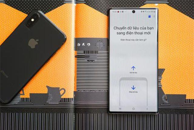Cách chuyển dữ liệu từ iPhone sang Galaxy Note10 nhanh chóng - Ảnh 1.