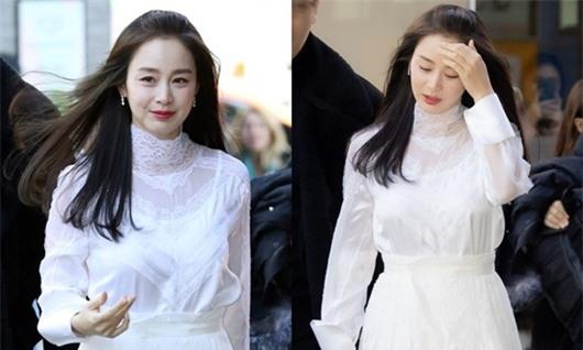 Nhan sắc nữ thần của Kim Tae Hee trong lần đầu xuất hiện sau khi sinh con thứ 2 - Ảnh 2