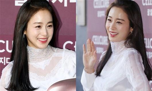 Nhan sắc nữ thần của Kim Tae Hee trong lần đầu xuất hiện sau khi sinh con thứ 2 - Ảnh 7