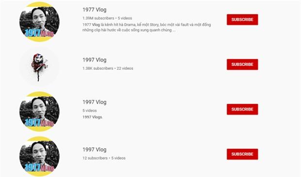 Nổi lên quá nhanh, 1977 Vlog bị bú fame mãnh liệt trên Youtube, xuất hiện cả những 1997, 1777 Vlog - Ảnh 4.