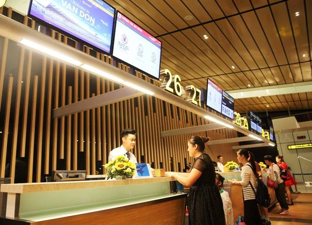 Sân bay Vân Đồn luôn chú trọng chất lượng dịch vụ