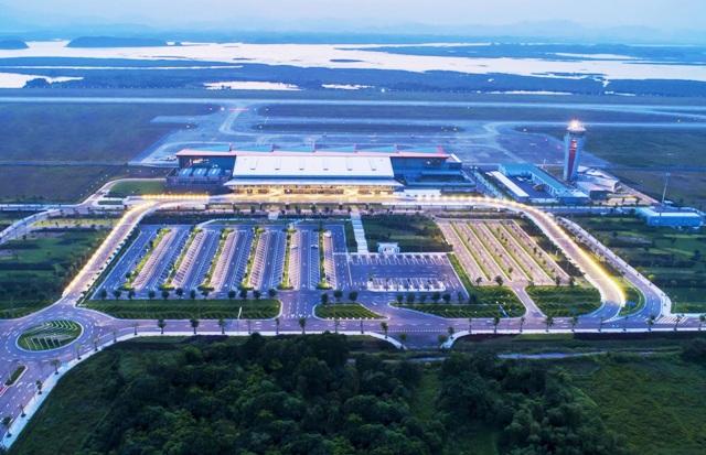 Toàn cảnh Sân bay Vân Đồn