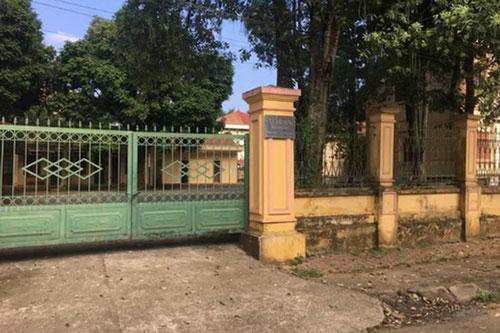 TAND huyện Cao Phong, nơi Nguyễn Quang Huy làm Chánh văn phòng trước khi bị bắt. Ảnh: Báo điện tử Người lao động.