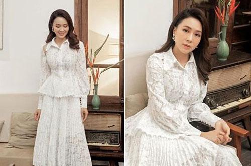 Những bức hình mới của Hồng Diễm khiến nhiều người khen ngợi về nhan sắc của cô.