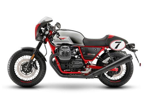 5. Moto Guzzi V7 III Racer 10th Anniversary (giá chưa công bố).