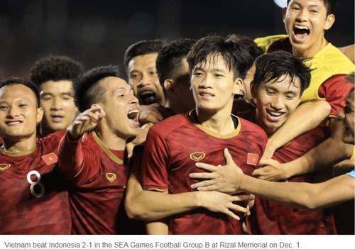 Tờ Dailynews của Thái Lan khâm phục bản lĩnh của U22 Việt Nam.