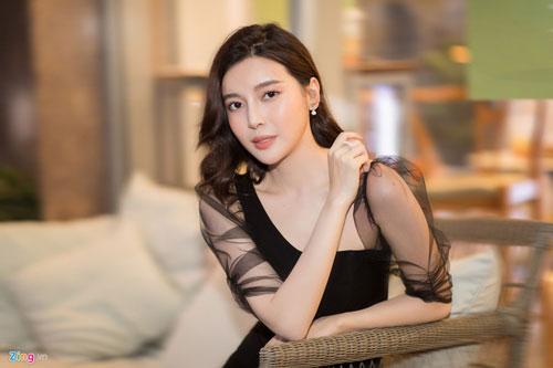 Cao Thái Hà tự tin khi diễn xuất ngày càng tiến bộ.