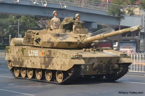 Xe tăng chiến đấu chủ lực hạng nhẹ ZTQ-15 (phiên bản nội địa của VT5). Ảnh: Military Today.