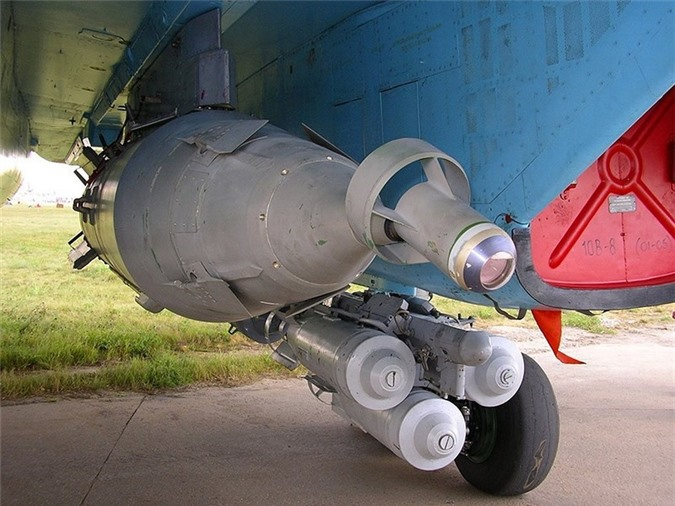 Het kien nhan voi phien quan, Nga nem sieu bom KAB-1500 xuong Syria-Hinh-20