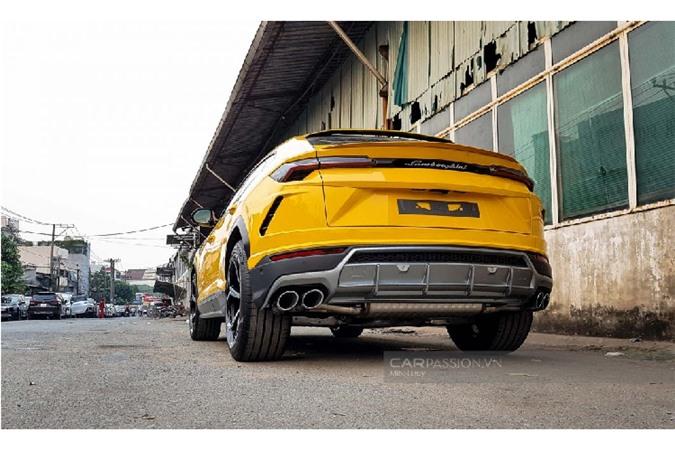 Sieu SUV Lamborghini Urus thu 6 hon 20 ty ve Viet Nam-Hinh-8