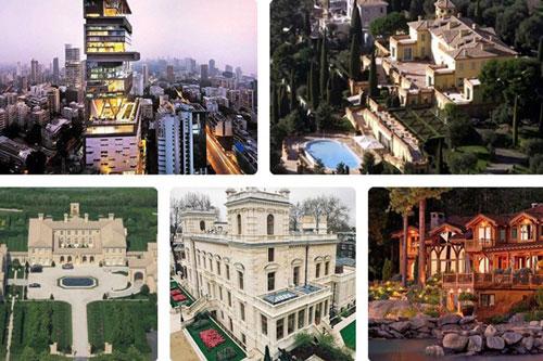 Để sở hữu những siêu biệt thự vài trăm triệu USD, thậm chí cả tỷ USD, nhiều tỷ phú vẫn không tiếc tiền mua.