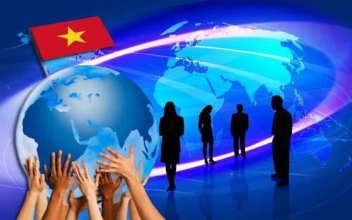 Hội nhập quốc tế là chủ trương lớn đã được cụ thể hóa trong từng giai đoạn phát triển của Việt Nam. Nguồn: internet.