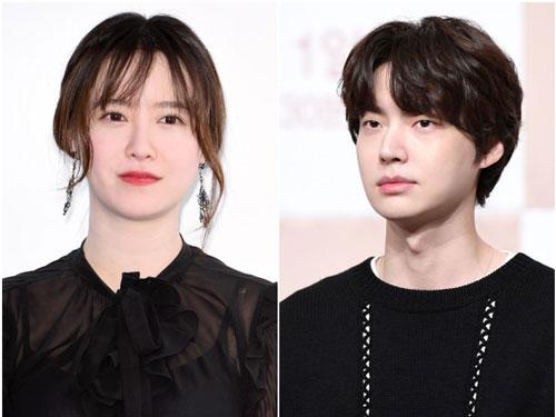 Goo Hye Sun và Ahn Jae Huyn. Ảnh: DM