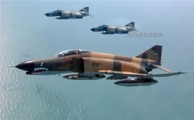 Moi tiet lo: F-22 My giai cuu UAV MQ-1 truoc hong sung chien co F-4 Iran-Hinh-15