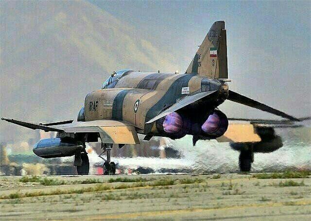 Moi tiet lo: F-22 My giai cuu UAV MQ-1 truoc hong sung chien co F-4 Iran-Hinh-8