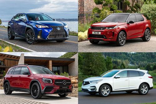 Top 10 xe SUV hạng sang đáng mua nhất tầm giá 40.000 USD: Lexus UX góp mặt