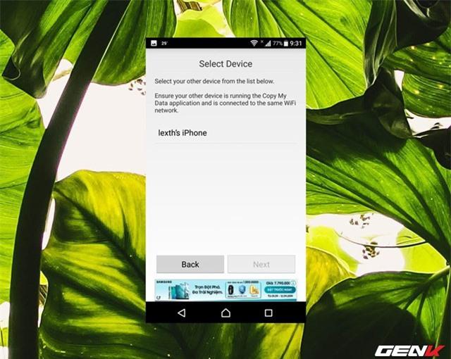 Chuyển nhanh dữ liệu qua lại giữa iOS và Android với Copy My Data - Ảnh 7.