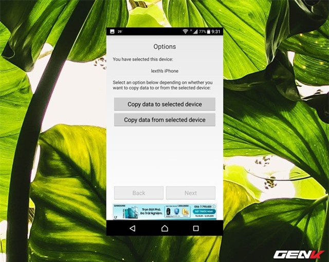Chuyển nhanh dữ liệu qua lại giữa iOS và Android với Copy My Data - Ảnh 8.
