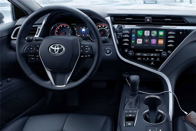 Toyota Camry AWD 2020 lo dien sau 28 nam vang bong-Hinh-5
