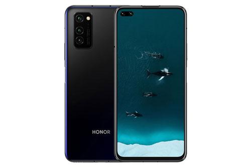 """""""Trái tim"""" của Honor V30 Pro đến từ chip HiSilicon Kirin 990 (7nm) lõi 8 với xung nhịp tối đa 2,86 GHz, GPU MP-G76 MP16. RAM 8 GB, bộ nhớ trong 128/256 GB, không có khay cắm thẻ microSD. Hệ điều hành Android 10, được tùy biến trên giao diện Magic UI 3.0.1."""