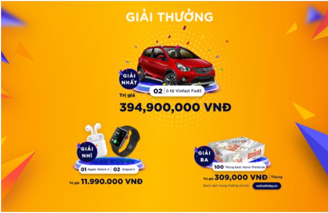Ngày mua sắm trực tuyến lớn nhất Việt Nam năm nay sẽ diễn ra vào 00h ngày 06/12/2019