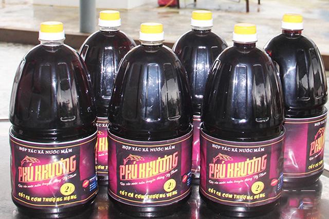 Nước mắm Phú Khương được thị trường đánh giá cao nhờ sản xuất sạch