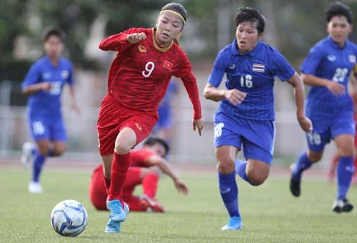 Đội tuyển nữ Việt Nam nhiều khả năng sẽ huỷ diệt Philippines ở bán kết. Ảnh: VFF.