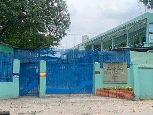 Trung tâm Hỗ trợ xã hội, nơi vừa xảy ra vụ dâm ô gây bức xúc dư luận. (Ảnh: Báo Người Lao động)