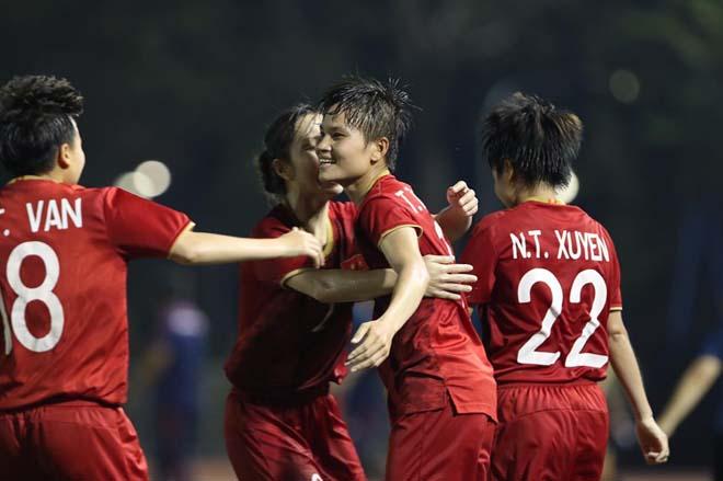 CLIP: Hạ Philippines 2-0, đội tuyển nữ Việt Nam tái ngộ Thái Lan ở chung kết