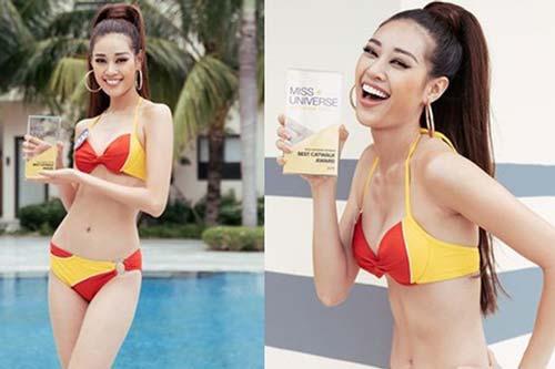 """Vượt qua cả quán quân Vietnam's Next Top Model, Khánh Vân xuất sắc đoạt giải social """"Best catwalk"""" Hoa hậu Hoàn vũ 2019"""